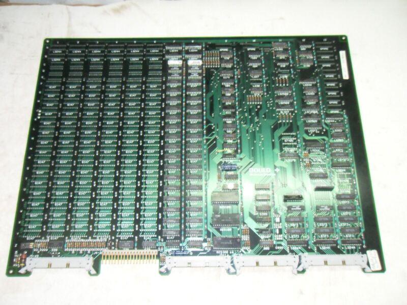 (A1) 1 GOULD MODICON AS-506P-008 REV C10 MEMORY MODULE