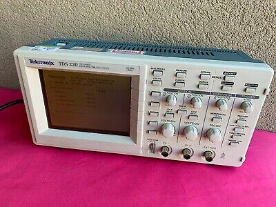 Tektronix Tds220 100 Mhz 2 Channel Digital Oscilloscope