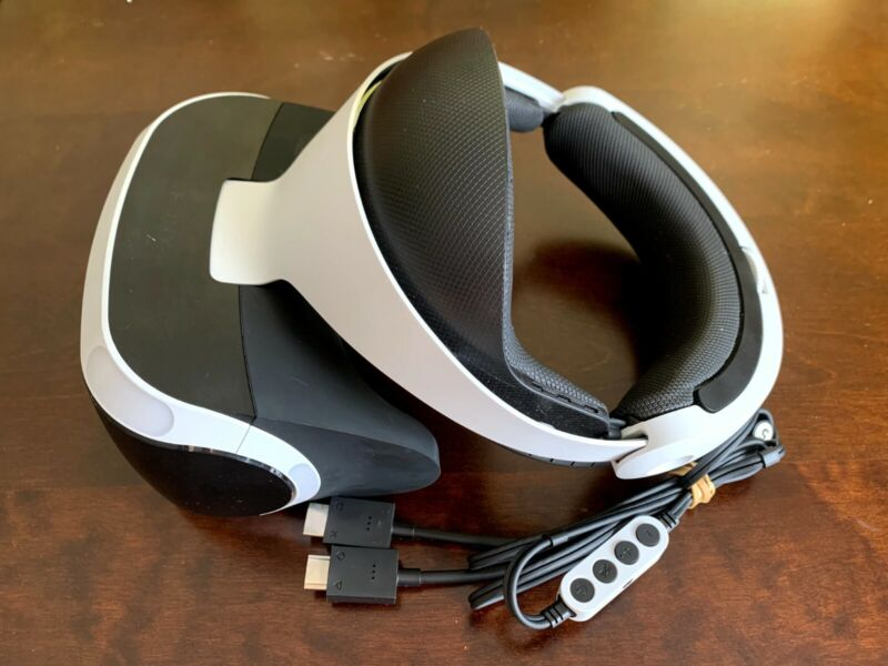 Sony PlayStation VR Headset used