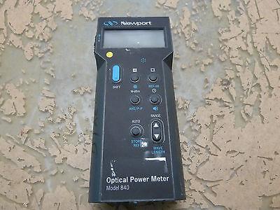 Newport 840-c Hand Held Optical Power Meter Handset 22-a.18