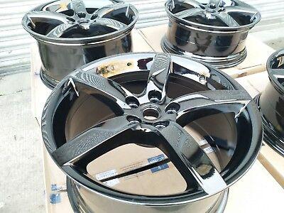 "Set Of Genuine Ferrari California T Turbo 19"" Alloy Wheels"