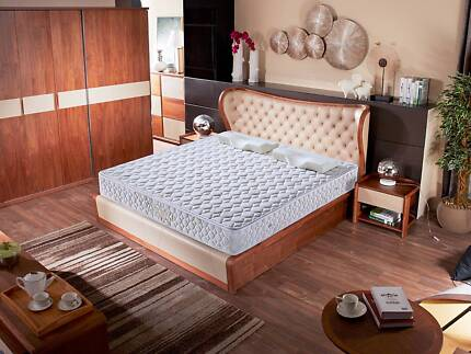 Brand New Full Size Range Coconut Fiber and Spring Mattress