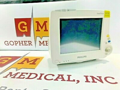 Philips Mp20 Patient Monitor With Anesthesia