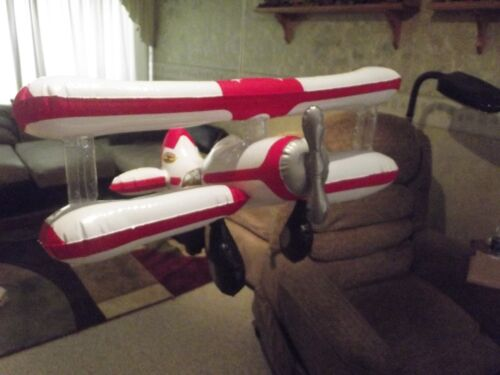 Five (5)  Red Baron ® Pizza Inflatable Airplanes ~ Promotional ~ NEW OLD STOCK