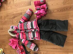 Manteau d'hiver fille 3T