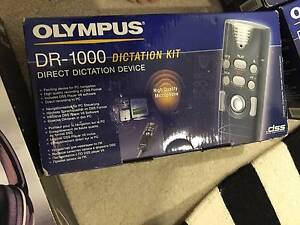 Olympus dictaphone kit - unused Milsons Point North Sydney Area Preview