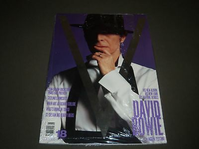 2002 JUL/AUG V MAGAZINE ISSUE NO. 18 - DAVID BOWIE - HIGH END FASHION- O 8531