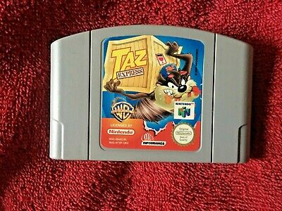 TAZ EXPRESS***OFFICIAL N64 CARTRIDGE ONLY***PAL VERSION