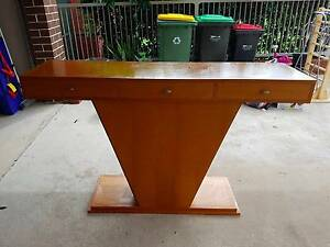 HAND MADE ENTRANCE TABLE Strathfield Strathfield Area Preview
