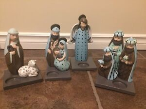 PartyLite Nativity Set