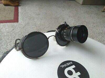 steampunk sunglasses monacle very real....auction is for monacle only.....