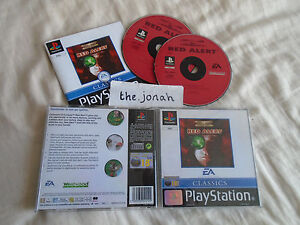 Command and Conquer: Red Alert PS1 (COMPLETE) rare Sony Playstation black label