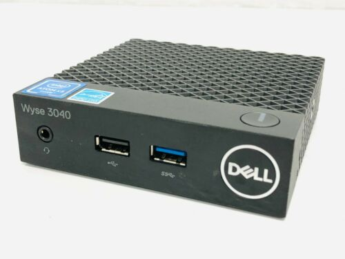 Dell N10D Wyse 3040 Atom x5 Z8350 Thin Client 8GB Flash/2GB RAM Thin Computer