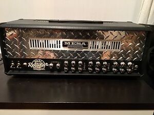 Mesa Boogie Dual Rectifier w/ 4x12 Cab and Flight Case