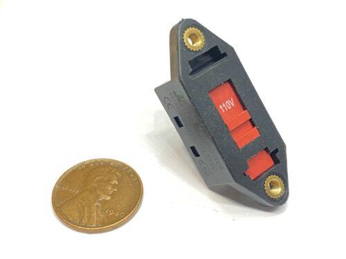Voltage Selector Slide Switch AC 110V to 220V 6 Terminals DPDT 6pin E21