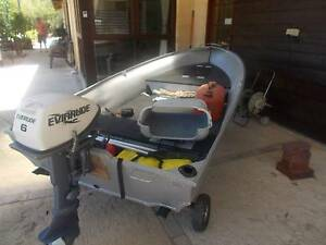 tinny/dinghy 6hp evinrude Roleystone Armadale Area Preview