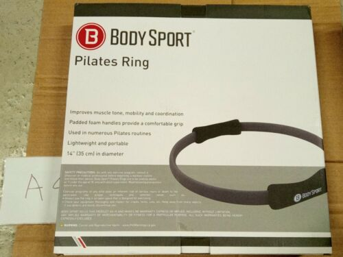 Body Sport Pilates Ring with Foam Padded Grips to Sculpt the Thighs, Core, Arms
