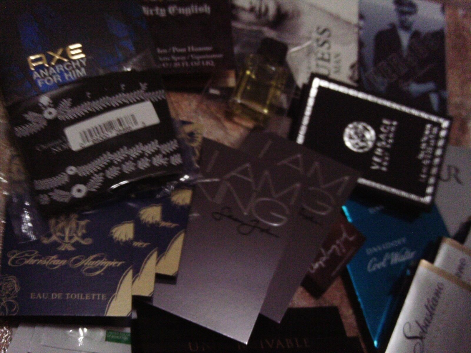 LOT OF 30 MENS COLOGNE SAMPLES  - VERSACE SPECIAL-*4 versace