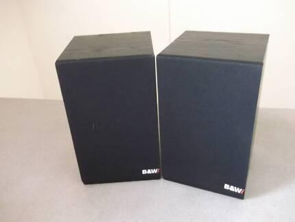 B & W Speakers DM 100i Bookshelf 75 Watts