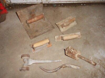 Vintage Antique Concrete Masonry Tools Acme J Stortz Sons 212216 218 324