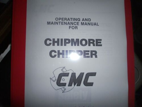 Owners Manual Chipmore Chipper WoodChipper + Parts info