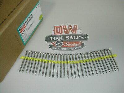 Quick-drive Stainless Steel Screws 3 10d 316 Grade 1000