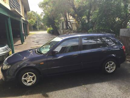 2001 Mazda 323 Hatchback Blue Merewether Newcastle Area Preview