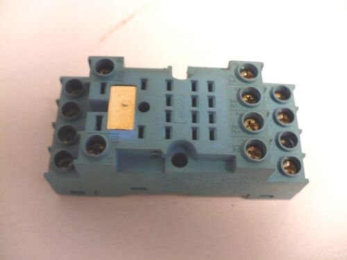 1 pc. Finder 94.74 Relay Socket, Used