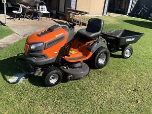 """Husqvarna TS246 ride on mower 46"""" deck with low hours"""