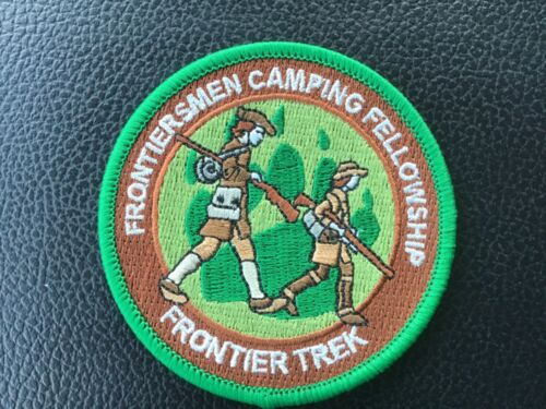 ROYAL RANGERS National FCF Frontier Trek Patch Green/Brown