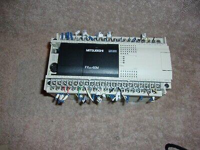 Mitsubishi Melsec Fx3g-60mrds Programmable Controller