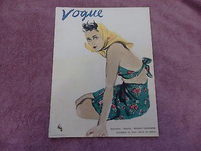 Vogue Magazine December 15 1935