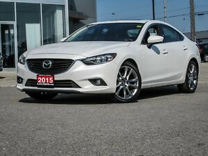 2015 Mazda Mazda6 GT, NAVI, LEATHER