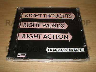 Franz Ferdinand Right Thoughts Right Words Right Action (CD) MADE IN ARGENTINA