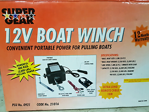 12v boat winch Karalee Ipswich City Preview