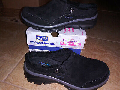 NEW $65 Womens Skechers Easy Going Latte Clogs shoes, size 7