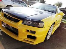 1999 Nissan Skyline R34 25GT-T Coupe 2dr Man 5sp 8 month rego Greenvale Hume Area Preview