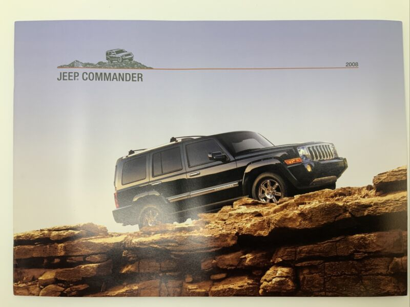 2008 Jeep Commander Brochure