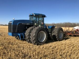 9682 New Holland Versatile 4wd Tractor BIG 1000 PTO GPS