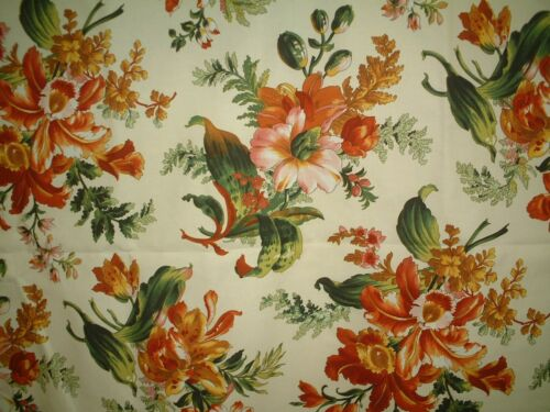 ZOFFANY FABRIC ORCHID - STUNNING FLORAL