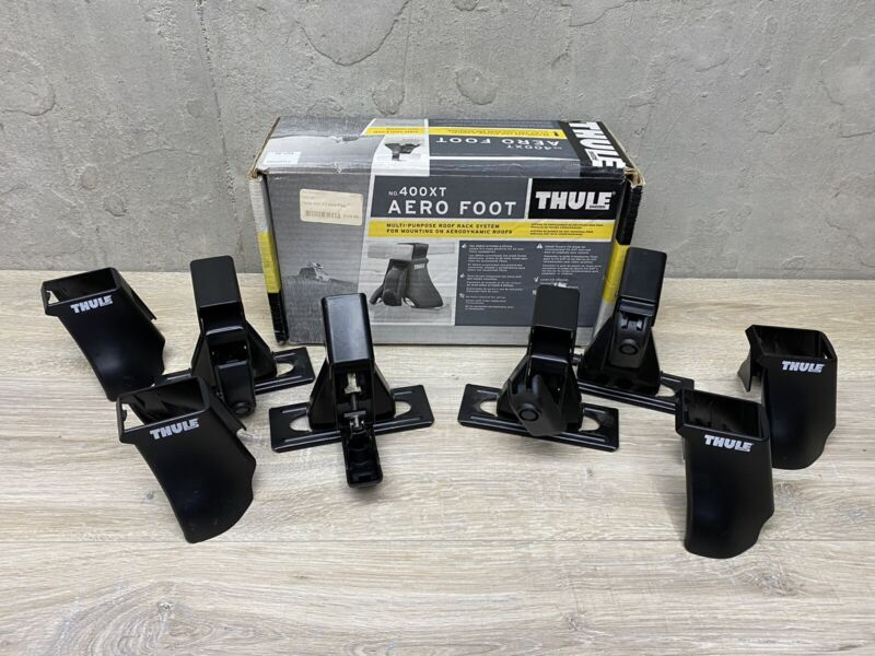 THULE 400xt Aero Foot With Covers- Qty 4