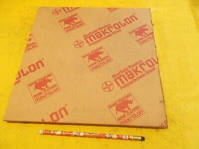 Makrolon Clear Polycarbonate Sheet Glazing Plastic Flat Stock 12 X 12 X 12