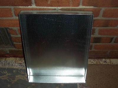 1 - 24  X 24 X 1 1/2  INCHES NEW METAL PANS TRAYS PET HOUSE RABBIT BIRD CAGE