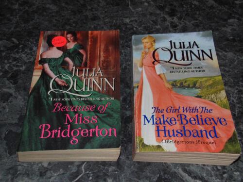Julia Quinn lot of 2 The Bridgerton Series Historical Romance paperbacks
