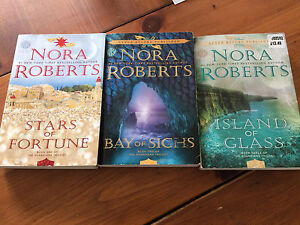 Nora Roberts newest trilogy