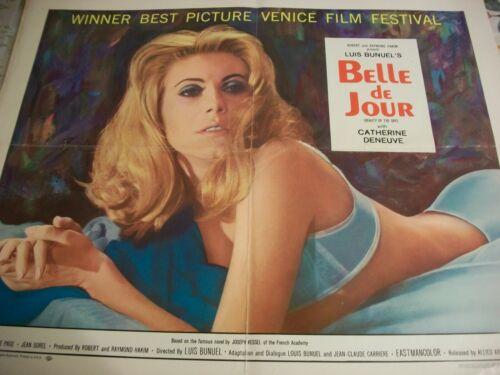 Belle de Jour  movie poster  1968  Rare!