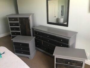 Complete 7 Piece Bedroom Set