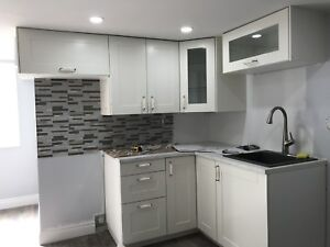2 Bedroom Basement Apartment - Close to Woodbine Subway Station