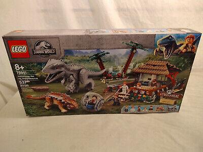 LEGO Jurassic Park World Indominus Rex vs. Ankylosaurus (75941) New Sealed Box