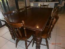 Dining Room Table and 8 Chairs Cherrybrook Hornsby Area Preview
